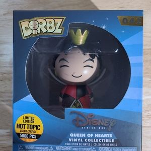 Funko Dorbz Disney - Queen of Hearts#42  HOT TOPIC